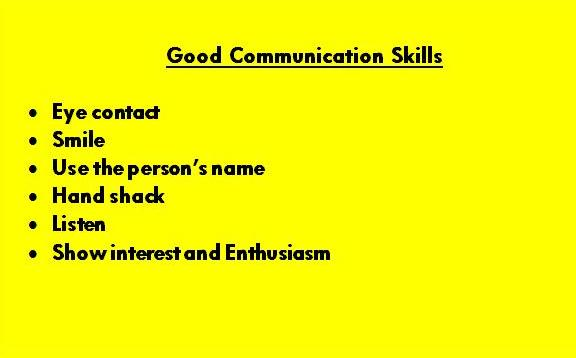 My goal for today; good communication skills. | Tony Brassington My goal for today; good communication skills.