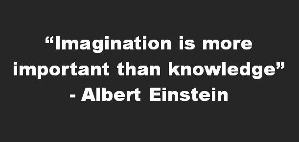 imagination is more important than knowledge   We Heart It ...