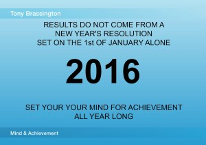 2016 Mind and Achievement